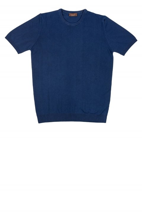 Plain Blue T-Shirt Tai.1.Blu