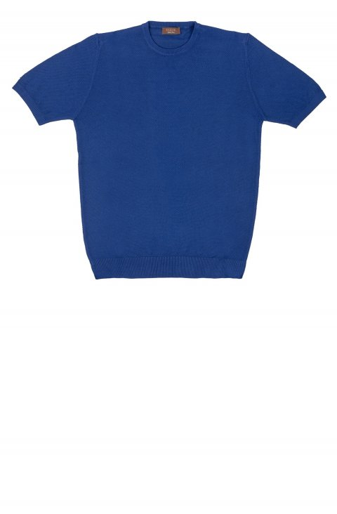 Plain Blue T-Shirt 241.1.Blu