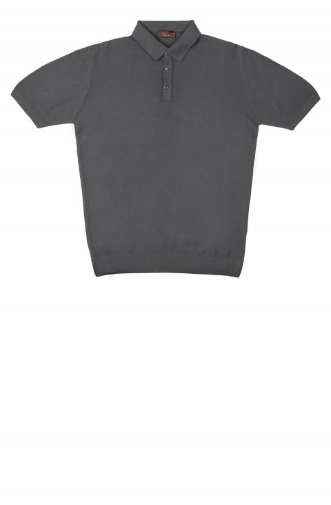 Plain Grey Polo Atf.105.Car