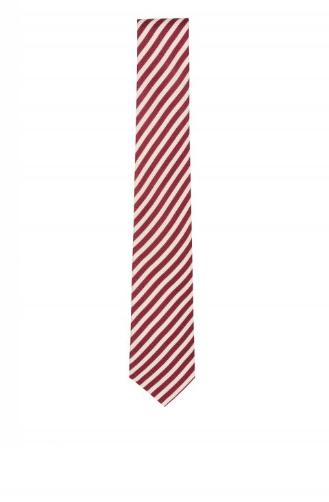 Stripe Red Tie 4622.3359.6