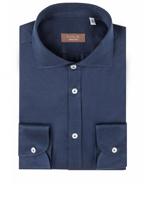 Plain Blue Shirt Mo.344.403