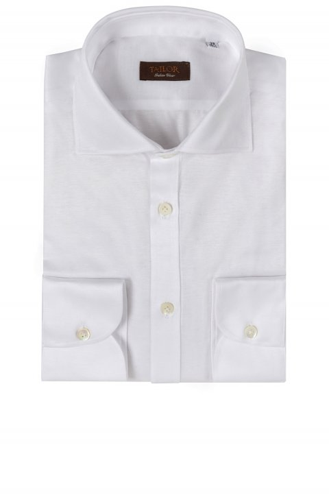 Plain White Shirt Mo.344.100