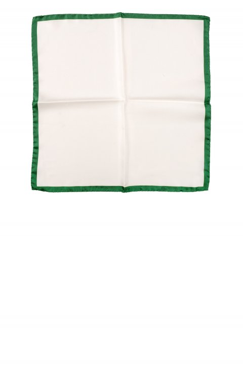 Plain Green Pocket Square