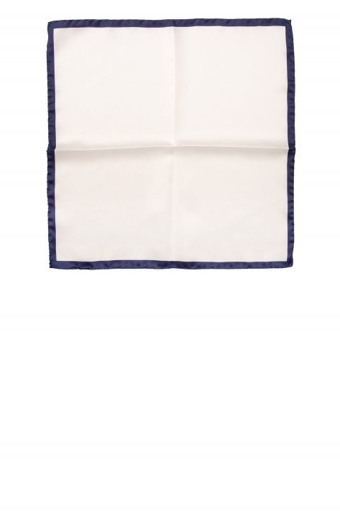 Plain Blue Pocket Square Sppbia.1.Blu