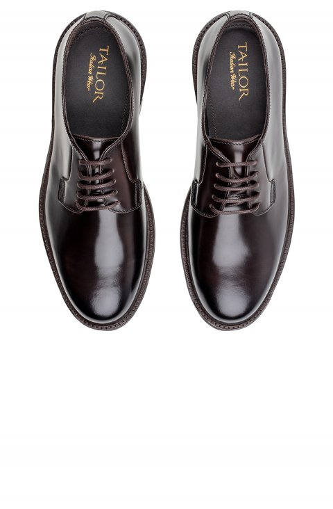 Derby Brown Shoes Scm1116.1.Ebony