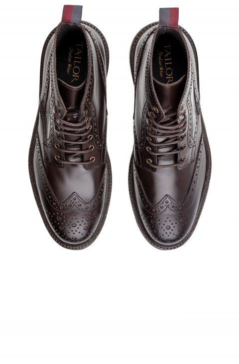 Brogue Brown Boots Scm1713.1.Moro