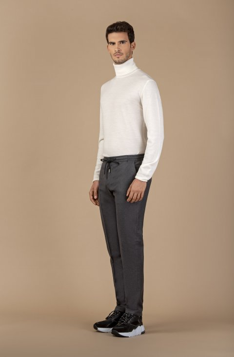 Plain Grey Trousers Ppgym037.2.3