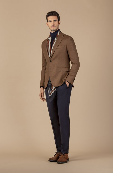 Plain Brown Jacket Rvic14.1.4