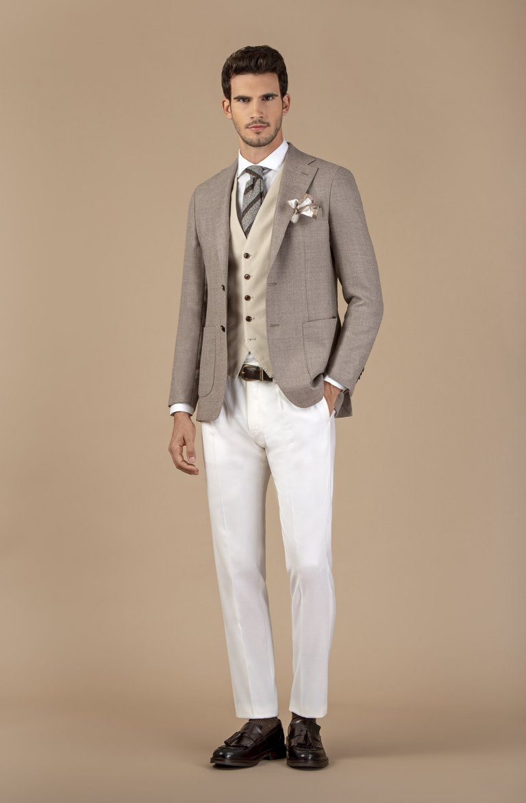 Plain Beige Jacket Vmlana.1.21