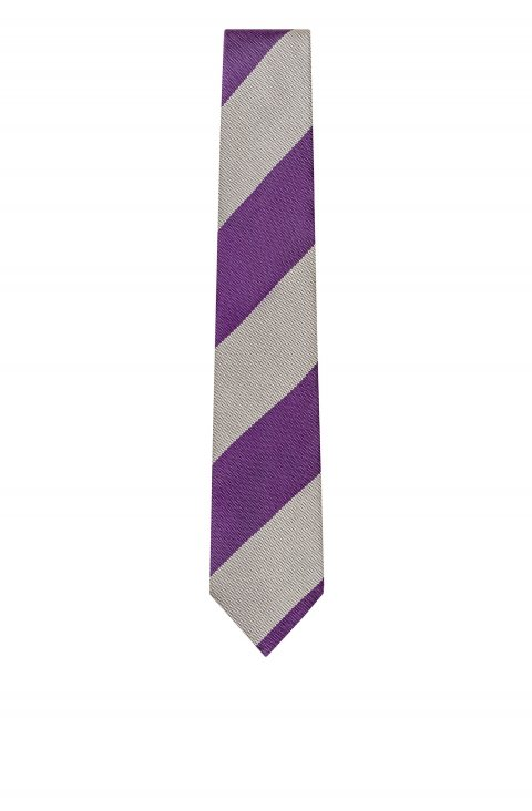 Stripe Purple Tie Cfca50622.1.4