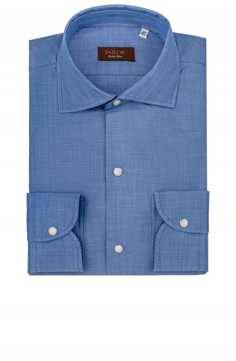 Plain Blue Shirt Cfibichampb23.1.1