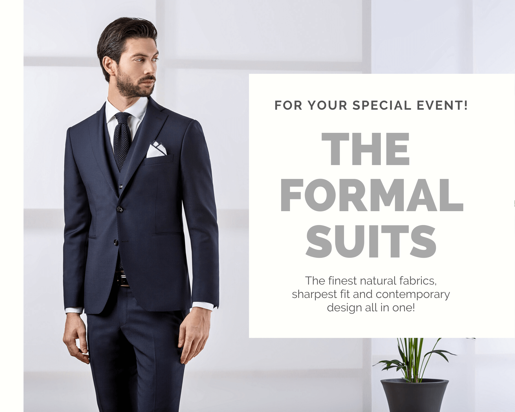 NEW CLASS: THE FORMAL COLLECTION