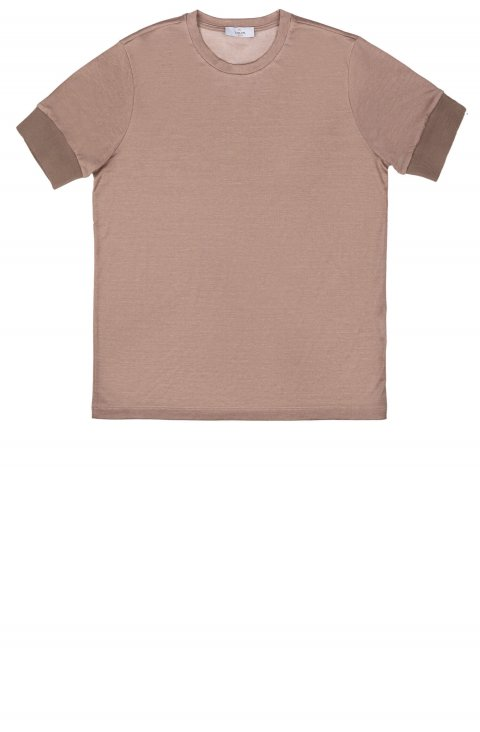 T-Shirt Marrone unito 9790.Cellole.33