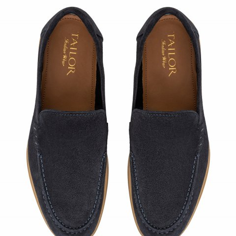 Loafer Blue Shoes 2567.Mocassino.Blu