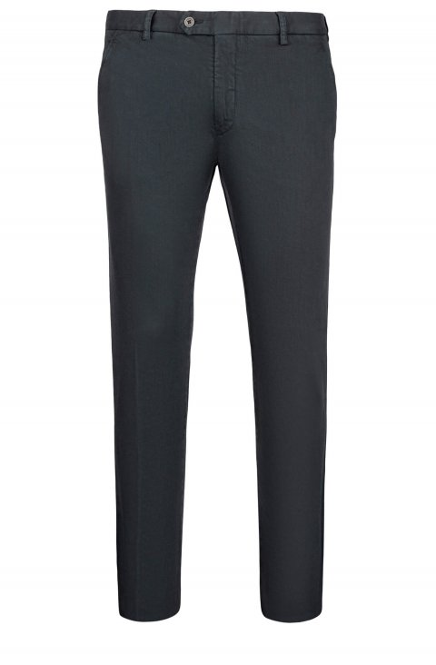 Plain Grey Trousers Silvapt80.1.Antracite