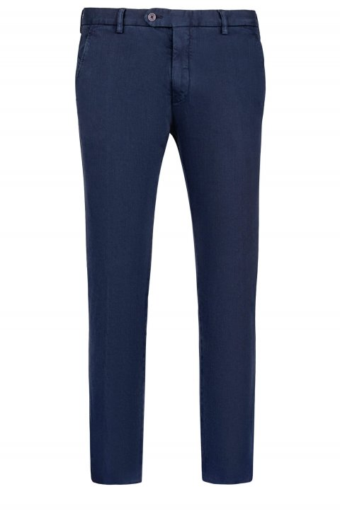Plain Blue Trousers Silvapt80.1.Navy