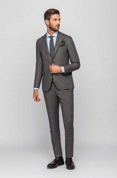 Plain Grey Suit Vsian023.1.3