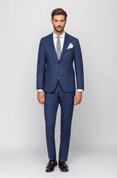 Plain Blue Suit Vsian023.1.63