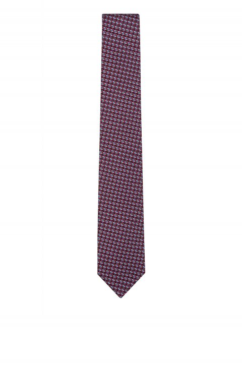 Print Red Tie Mo.4979.15
