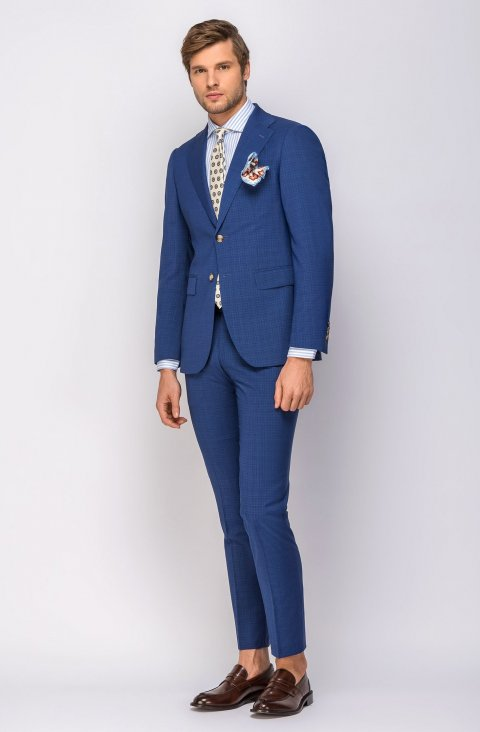 Plain Blue Suit Nasian301.1.3