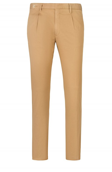 Men's Beige Trousers Silvpts58.1.387