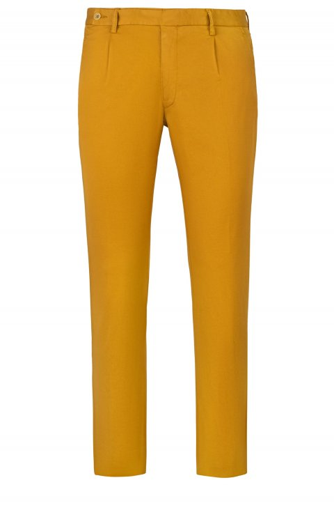 Men's Ocher Trousers Silvpts58.1.393